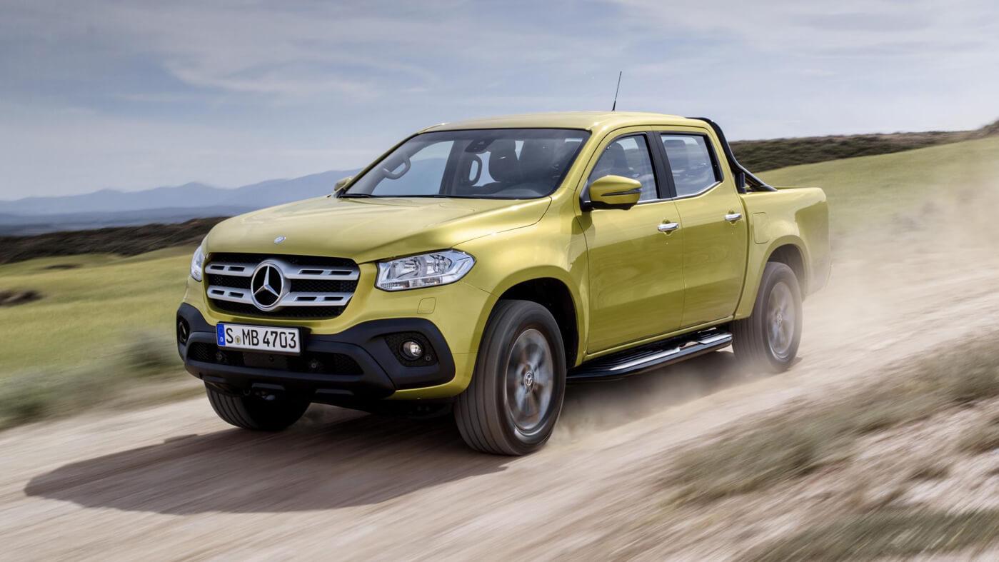 6656ebfbd4 Mercedes Pickup Aims to Mimic Success of Brand s SUVs – Automotive